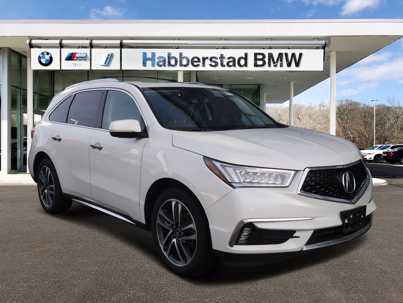 Pre-Owned 2017 Acura MDX with Advance Pkg