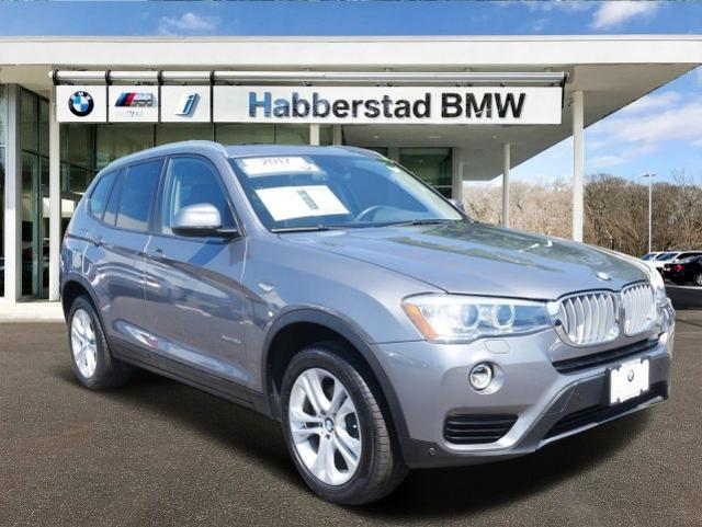 Certified Pre-Owned 2017 BMW X3 xDrive35i Sports Activity Vehicle
