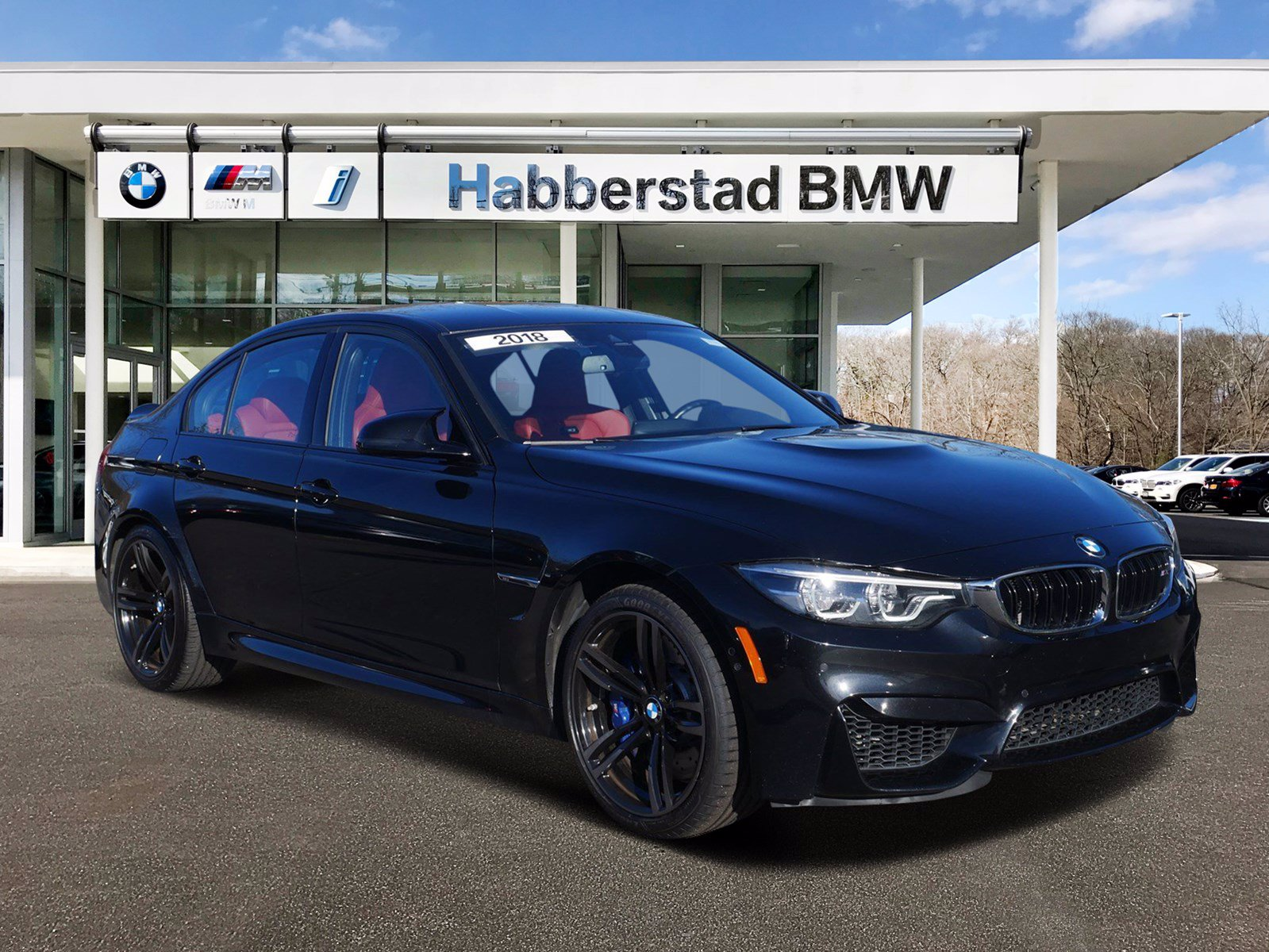 Pre-Owned 2018 BMW M3 6 Speed Manual & EXECUTIVE PACKAGE