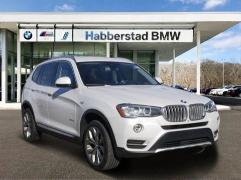 Certified Pre-Owned 2017 BMW X3 xDrive28i Sports Activity Vehicle Sport Utility