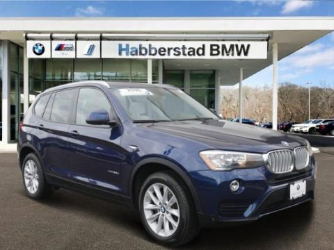 Certified Pre-Owned 2016 BMW X3 AWD 4dr xDrive28d