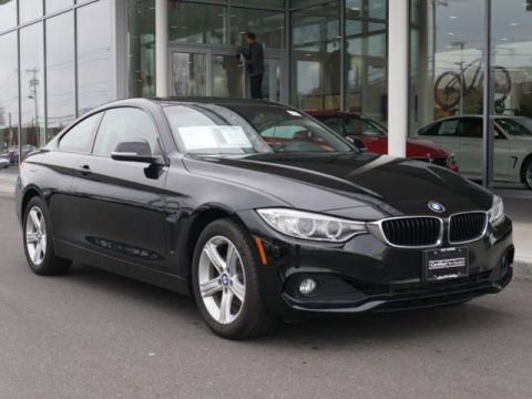 Certified Pre-Owned 2015 BMW 4 Series 2dr Cpe 428i xDrive AWD 2dr Car