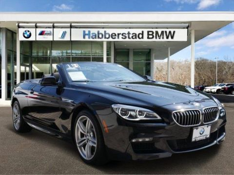 Pre-Owned 2018 BMW 6 Series 640i xDrive Convertible