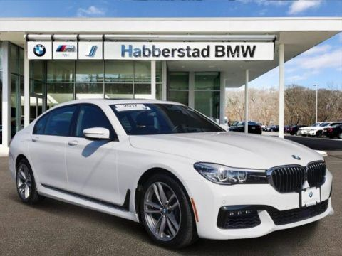 Certified Pre-Owned 2017 BMW 7 Series 740i xDrive Sedan