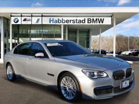 Certified Pre-Owned 2015 BMW 7 Series 4dr Sdn 750Li xDrive AWD