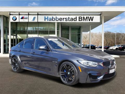 Pre-Owned 2017 BMW M3 4DR SDN