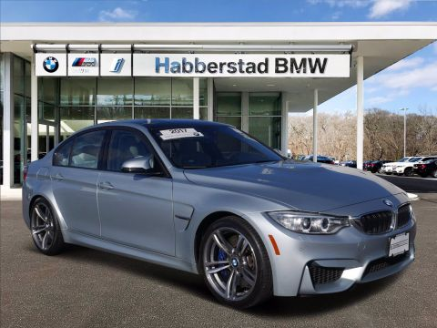Certified Pre-Owned 2017 BMW M3 4DR SDN