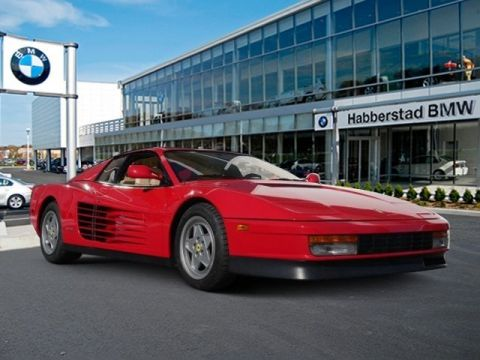 Pre-Owned 1990 Ferrari Testarossa 2 Door Coupe